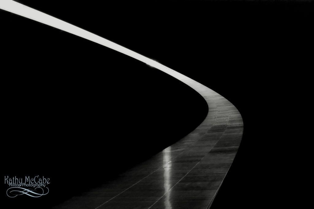 Arch in Black & White by Kathy McCabe