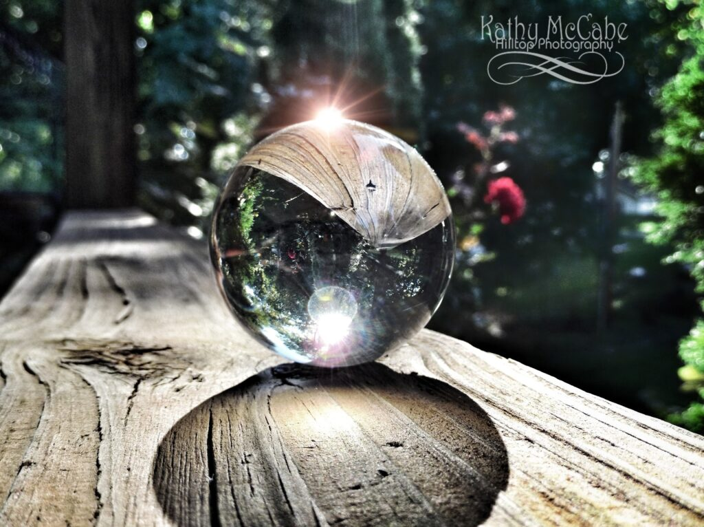 Orbs, Lines & Sunflares by Kathy McCabe